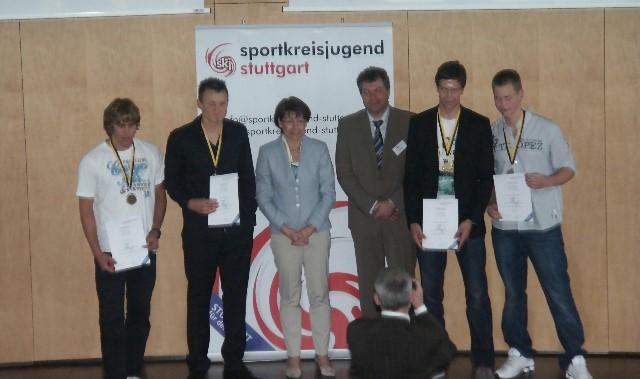 Rudern: Ehrung Sportkreisjugend Stuttgart