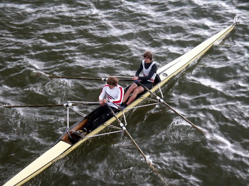 Rudern: 1. Internationale Junioren Regatta München